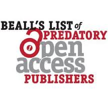 Beall-predatorypublishers
